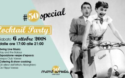 #50special Cocktail Party, i 50 anni di Monti Arreda