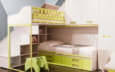 Moretti Compact: le camerette ecologiche che sfruttano ogni spazio
